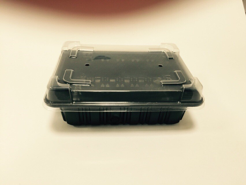 Ready Meal Box Catering Packaging with Lid
