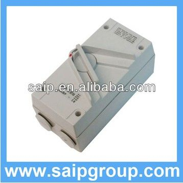 Australian isolating switch fuse 1P20A,2P35A,3P63A,4P20A with SAA