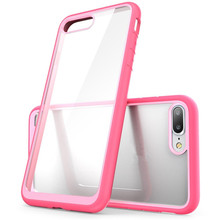 Mobile Phone Cover TPU PC Case for iPhone 7, For iPhone 7 Case Hybrid, For iPhone 7 Clear Case