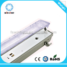 China manufacturer 1x18W t8 ip65 waterproof led light fitting