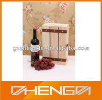 Hot!!! Customized Made-in-China Wedding Gift 3 Bottles Wood Wine Box(ZDW13-W006)