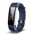 ID115 HR PLUS Fitness Tracker Big OLED 0.96''Screen Fitness Tracker Pedometer Smart Wrist Band Heart rate monitor Wristband