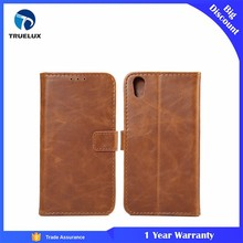 Hot Selling Retro Jeans Canvas PU Leather Cell Phone Case for Blackberry DTEK50