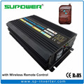 High efficiency 2000W DC to AC 220V or 110V Output Off Grid Pure Sine Wave Power Inverter with Wireless Remote Control