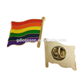 Rainbow Flag Gay Pride Enamel Lapel Pin Badge Soft Enamel Lapel Pin The Rainbow Flag