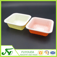 Eco-Friendly China factory meal prep plastic bento storage container with clear lid