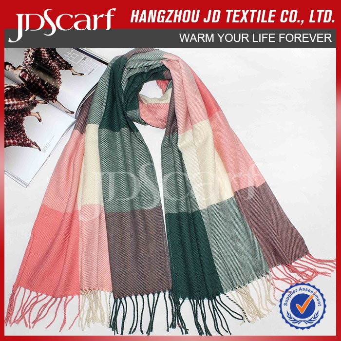Hot sale very soft factory direct scarves and pashminas