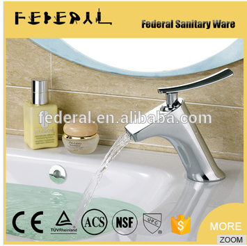 2016 Deck mounted brass body basin Faucets motion sensor faucet
