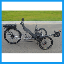 Adut Recumbent Electric Three Wheeler Tricycle for Sale