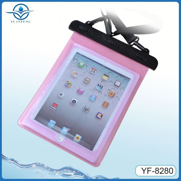 Outdoor sport waterproof bag for ipad 2 case