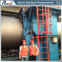 QGW Series Pipe/Tube Surface Cleaning Shot Blasting Machine