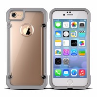 2016 Factory New TPU PC Protective Phone Case Cover For iPhone 7 Phone Case