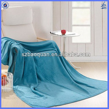 warm and soft 100% polyester solid color blanket coral fleece wholesale