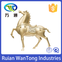 A1028 High Quality Brass horse with Experienced Factory