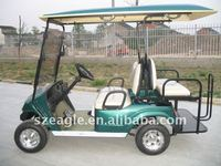 electric golf car/golf cart/golf buggy/utility vehicle, ce approved, 2 seats with flip flop seats,EG2028KSZ02