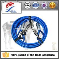 Colorful Durable Wire Rope Dog Ropes Dog Collar Leashes