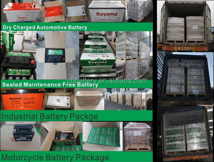8v190ah High performance dry charged Deep cycle acid solar battery T890