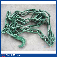 High Quality Link Chain with C hook On Both End,Binder Chain sales link chain