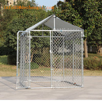 Environmental Galvanized dag cage / outdoor large pet cage