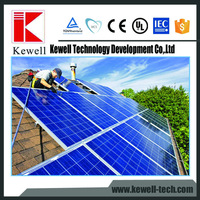 High efficient Yingli stock polycrystalline silicon Pitched Roof solar panel