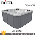 2013 new design acrylic hot tub with high quality