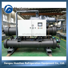 High efficient heat exchanger cooling water cooled chiller