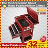 KINDLE aluminum tool chest,design for your garage workshop