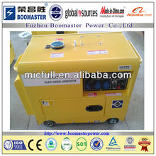 soundproof 5kva portable diesel generator for home use