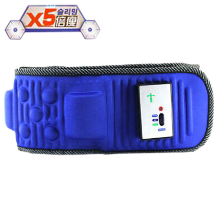 Factory direct x5 fold thin slimming massage slimming belt vibration rejection fat belt abdominal exercise thin waist thin belly