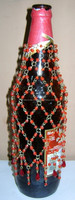 Beaded Bottle Cover BBC1002
