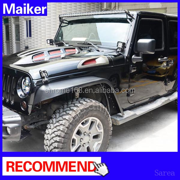 off road Iron fender for Jeep Wrangler JK 2 doors/4 doors Mud Flap auto parts for jeep