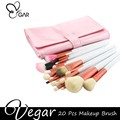 Pink 20pcs Makeup Brush Set