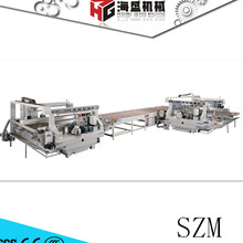 Glass Edger SZM-1025 Automatic Supper Speed Double Edger Line Low E glass Grinding Machine