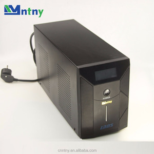 CNNTNY High Quality Pure Sine Wave Line Intelligent Inverter UPS mini 1200W 1000W Li Ion Battery for Online Ups Working
