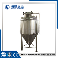 Glycol Jacket Fermentation Tank / Beer Fermenter/ Stainless Steel Conical Fermenter for Sale(CE)