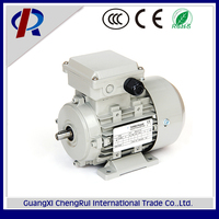 motor for eletric car----Aluminum housing light weight 3 phase 240v car electric motor