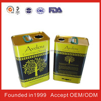 Metal Cooking Oil Cans in China
