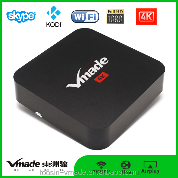 necessary Android smart tv box for family use take Android s905 tv box Android5.1 kodi 6.0 hd tv box