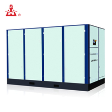 Hot selling saving energe Stationary Electric Low Pressure rotary screw air compressor breaker