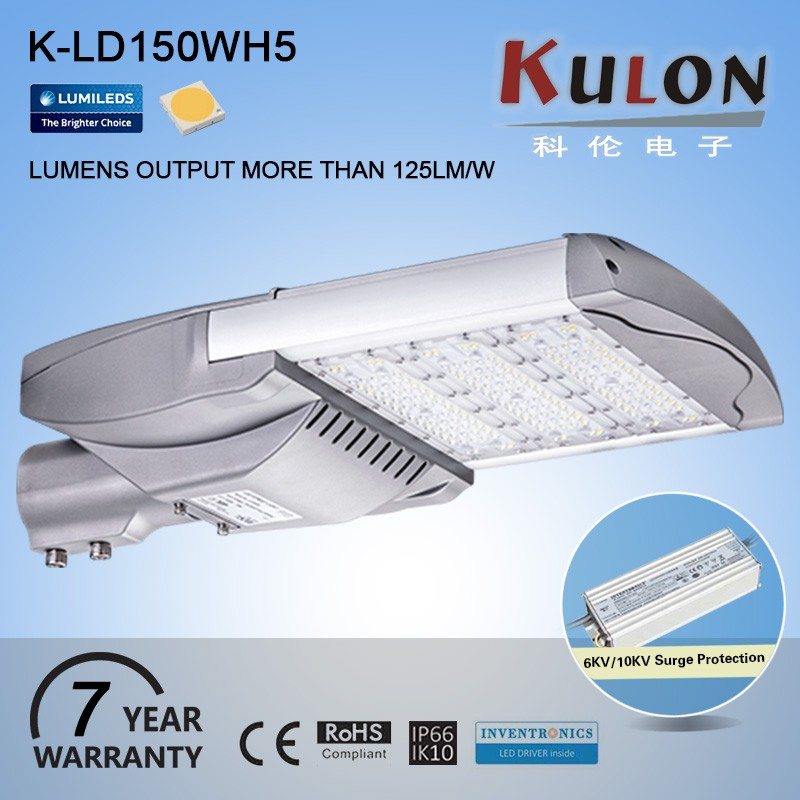 Waterproof 150W High quality Inventronics Driver led street light