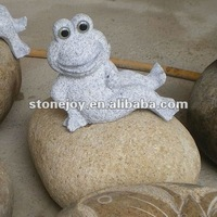 Frog Stone Animal, Animal Stone Carving