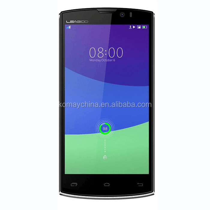 KOMAY Cheap LEAGOO Lead 7 mobile phone Android 4.4 MTK6582 Quad Core 5 inch 1GB RAM 8GB ROM smartphone