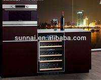 40 bottle dual zone built-in wine cooler