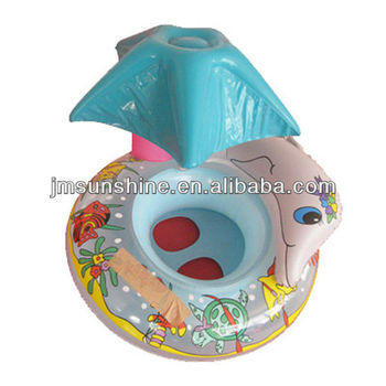 EN71 plastic water baby boat /table lamp design 6p free