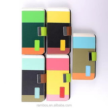 Folio Rainbow Color PU Leather Stand Card Slot Holder Flip Cover Wallet Case for Samsung Galaxy S3 i9300