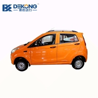 50km/h RWD driving street legal smart 4 seat electric city car
