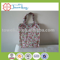 polyester woven ladies hand bag