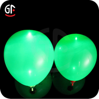 2016 Brilliant Holiday and Event Article LED Flashing Balloon Weight with Custom Logo