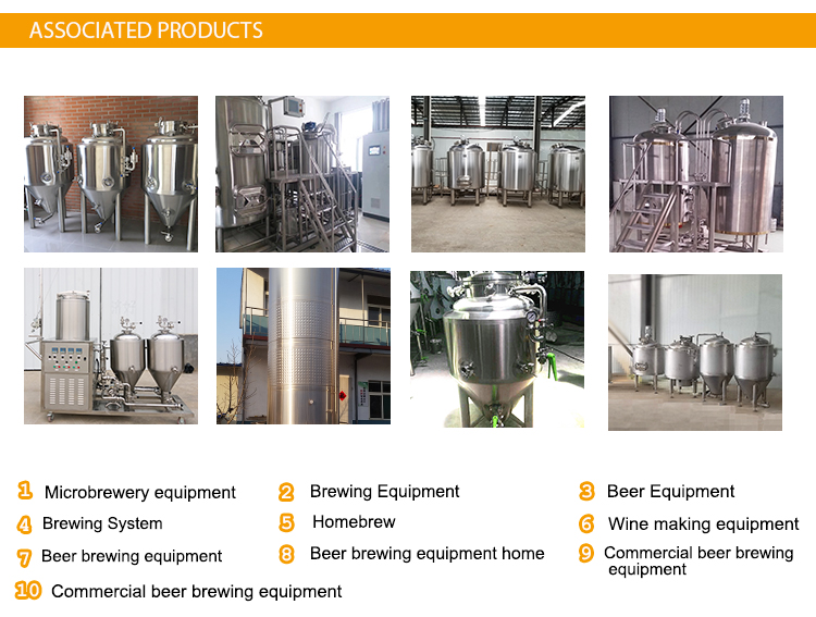 500L Horizontal BBT bright beer tank for beer storage of secondary fermentation