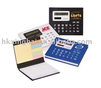 Sticky Note Case With Calculator,Gift Calculator